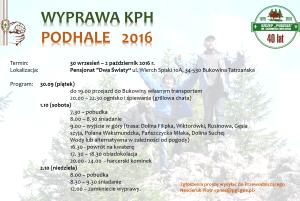 WyprawaKPH 2016